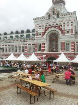 16 августа на Нижегородской ярмарке прошел Фестиваль локальной кухни «ЛУГ»-3