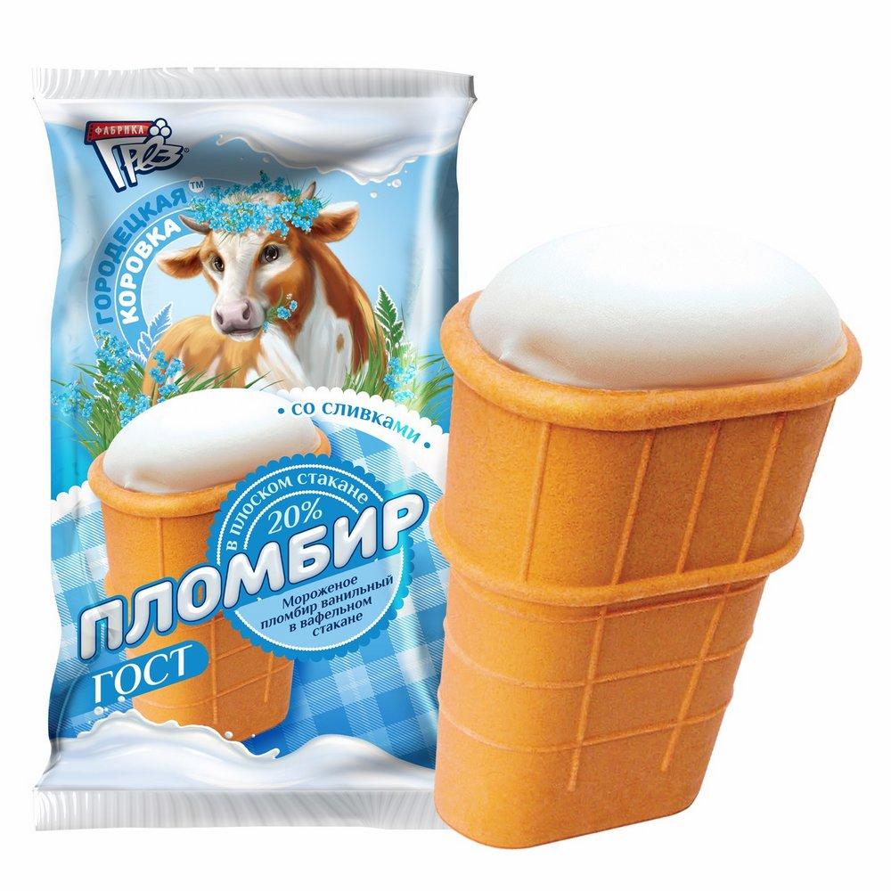 стакан плоский корова